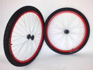 New Colored Mountain Bike Wheels 29er 29 Disc with Tires FAN29SPT