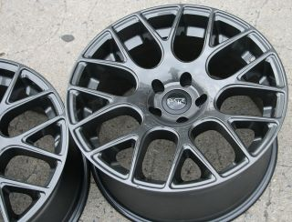 CIRCUIT M107 18 GUNMETAL RIMS WHEELS CLS55 AMG / 18 x 8.0/9.5 5H +25