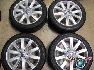 06 11 Volkswagen VW Jetta Factory 17 Wheels Tires Rims 5x112 Golf EOS
