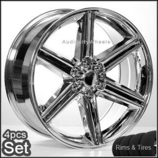26 IROC Wheels and Tires 6LUG Escalade Tahoe Chevy Siverado Rims