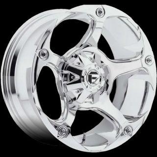 17x9 Chrome Fuel Havok Wheels 8x6.5  12 Lifted DODGE RAM 3500 RAM 1500
