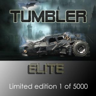 Hot Wheels 1 18 Scale Limited Edition 1 5000 Dark Knight Tumbler Elite