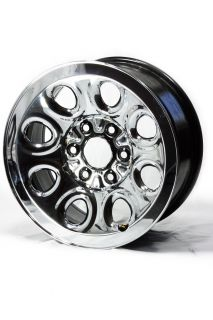 17 OEM Factory Chrome Clad 2005 2013 Chevy / GMC 1500 Wheel   5223