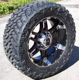 20 XD Spy Wheels Rims 33 Nitto Trail Grappler Dodge RAM 1500 Dakota