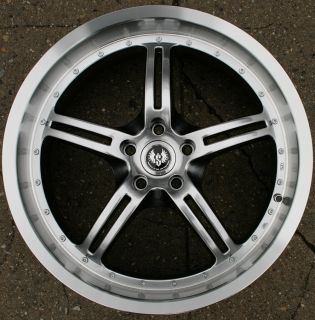 FACE ST5 20 H BLACK RIMS WHEELS VW EOS TIGUAN CC / 20 x 8.5 5H +35