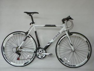 Teman Hybrid Bike Shimano 21 Gears Alloy Frame