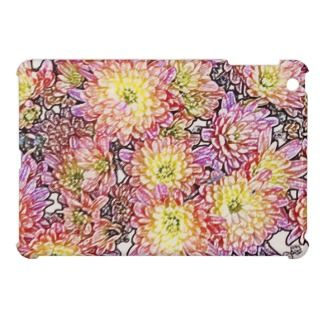 Chrysanthemums Within the Lines iPad MIni Case