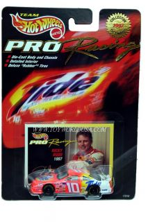 Hot Wheels Pro Racing 1st Ed 1997 10 Tide Ricky Rudd Ford Thunderbird
