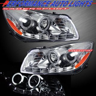 2011 2012 Buick Regal CCFL Halo Projector Headlights R8 Style LED