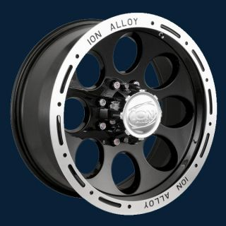 174 Black Beadlock New Set of Wheels 16x8 Free SHIP Install Kit