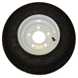 175 80 D 13 B78 13 5 Lug Trailer Tire Rim Assembly