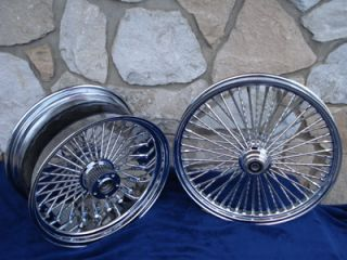 21 18 DNA Mammoth 52 Spoke Wheels for Harley Softail