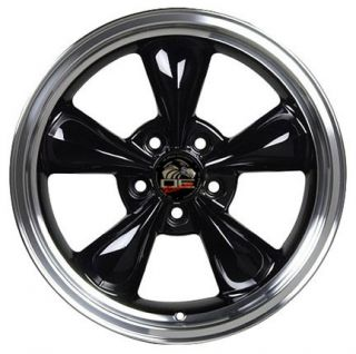 17 Black Bullitt Bullet Wheels Set of 4 Rims Fits Mustang® GT