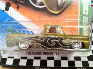 2011 Hot Wheels Custom 62 Chevy Super Treasure Hunt