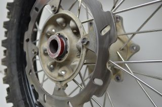05 Honda CRF250R Rear Wheel Tire Moose Rim