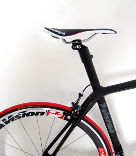 LIMITED Ed CAMPAGNOLO SUPER RECORD Ti CARBON PALERMO ROAD BIKE 54 cm