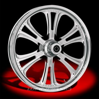 Czar Chrome 21x2 15 Front Wheel 00 06 Harley FXST Softail FXDWG Dyna