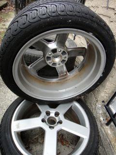 S60 R Pegasus 18 inch Wheels Rims Michelin Pilot Sport A/S Plus 235/40