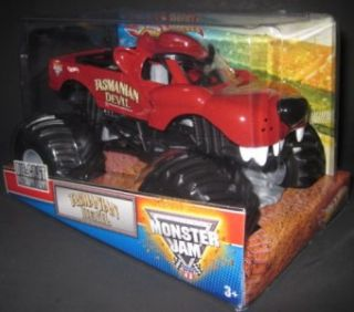 Hot Wheels Monster Jam Tasmanian Devil 1 24 Scale Diecast Monster