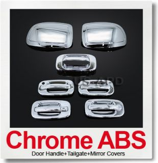 99 06 Silverado Sierra 4 Door Chrome Accessories