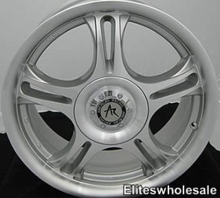 14x6 Machined Estrella Wheels Rims 4x100 4x4 5