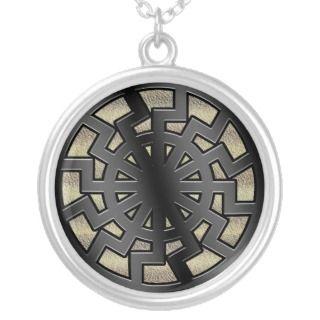 sonnenrad(sun wheel) necklace