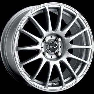 17x7 Silver MSR 68 Wheels 5x115 35 Chevrolet Monte Carlo Impala Malibu
