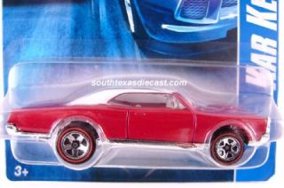 Hot Wheels 67 Pontiac GTO Redline Kar Keeper Series Limited Kmart