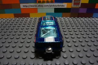 Hot Wheels Blue 13 Ford Mustang GT Drag Race Diecast Vehicle HW