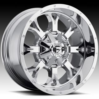 18x9 Chrome Fuel Krank Wheels 5x5 5x5 5 Rims