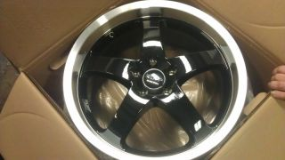18 RUFF RACING R357 RIMS,WHEELS 5X120, BMW 325I,330I,335I,M3,Z4,330XI