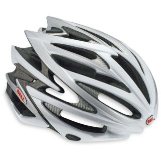 Bell Volt Silver White New Cycling Racing Helmet Bike Bicycle Road