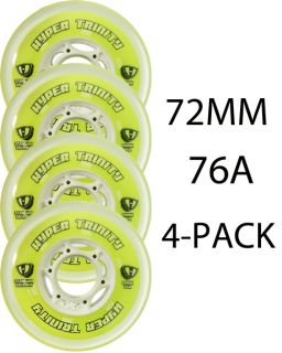 Hyper Inline Wheels Trinity Tri Pour 72mm 76a x4 Roller Hockey Indoor