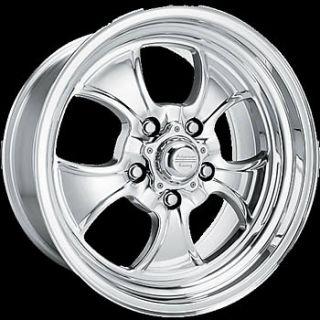 16x7 Polished Wheels Rims Hopster 5x4 75