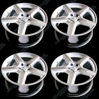 CL CLK Series Wheels 19x9 5 Rims with Central Caps 4 New