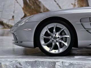 Genuine AMG Mercedes Benz McLaren SLR Wheels New Michelin Tires