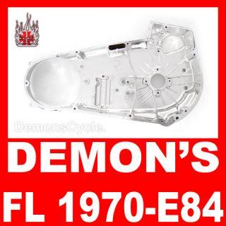 New Chrome Inner Primary Housing Fits Harley FL 1970 84