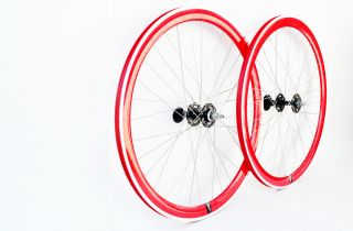Fixed Gear Single Speed Bike Wheelset Wheel Wheels Free SHIP