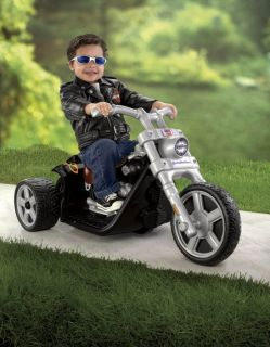 Power Wheels Harley Davidson Motorcycle Rocker Bike 6V Electric Ride