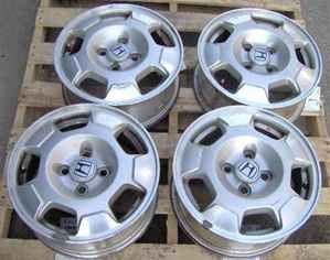 03 04 05 Honda Civic 14 Alloy Wheels Set of 4 Rims
