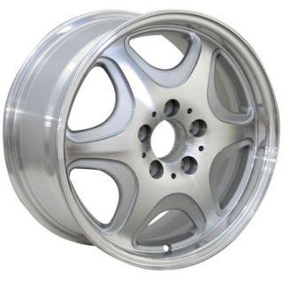 16 Silver Wheels Set of 4 Rims Fit Mercedes C E s Class SLK CLK CLS