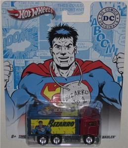 Hot Wheels DC Comics 8 Car Set Nostalgia 1 64 Scale Diecast Superman