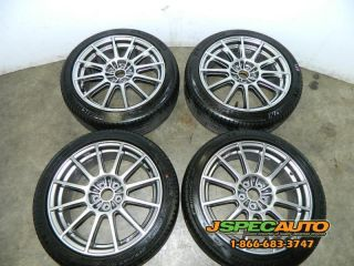 SUBARU LEGACY STI SPEC B 17X7 WHEELS WITH 215/45R17 TIRES VERY RARE