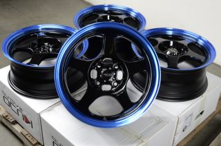 Blue Effect Wheels Escort Cobalt Pontiac G5 Corolla Civic Integra Rims