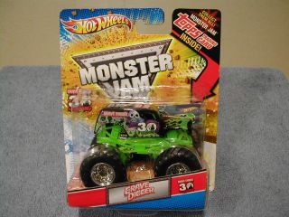 Hot Wheels Monster Jam 2012 Special 30th Anniversary Edition Grave