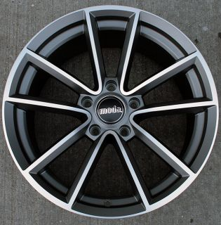 RVM MD7 18 Antracite Rims Wheels 94 04 Ford Mustang V8