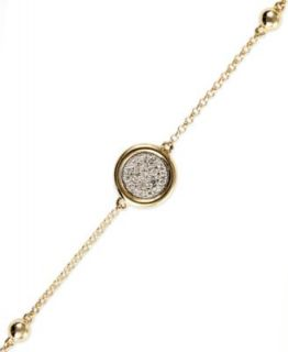 EFFY Collection 14k Gold Bracelet, Diamond Circle Tennis Bracelet (1