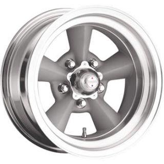 17x8 Silver Wheels Rims Torq Thurst 5x4 75