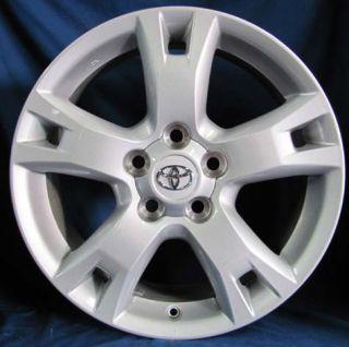 17 Toyota RAV4 2012 OE Silver Wheels 4 Rims