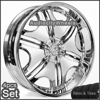 22 Rims Tires VC85 Wheels 300C Magnum Charger